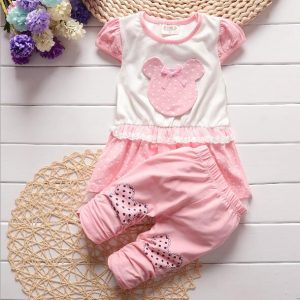 Short Sleeve Pants Set