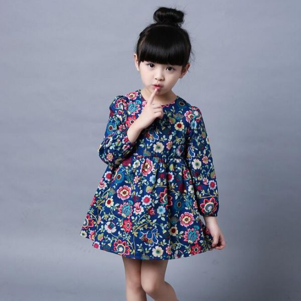 Ethnic Floral Girl Dress United States