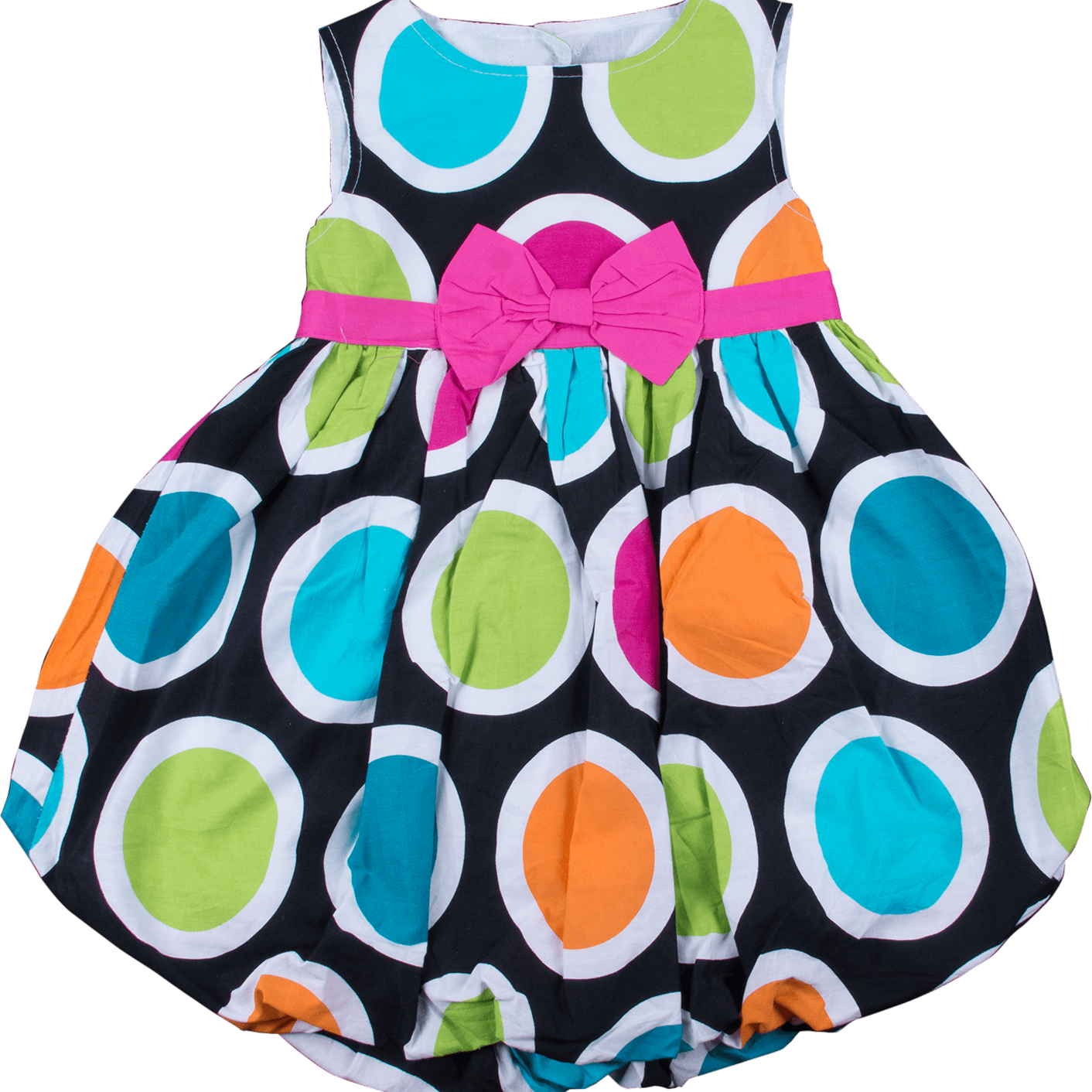 b01fa6b7cd31 Sleeveless Balloon Baby and Toddler Dress - Clearance Up to 70% Off