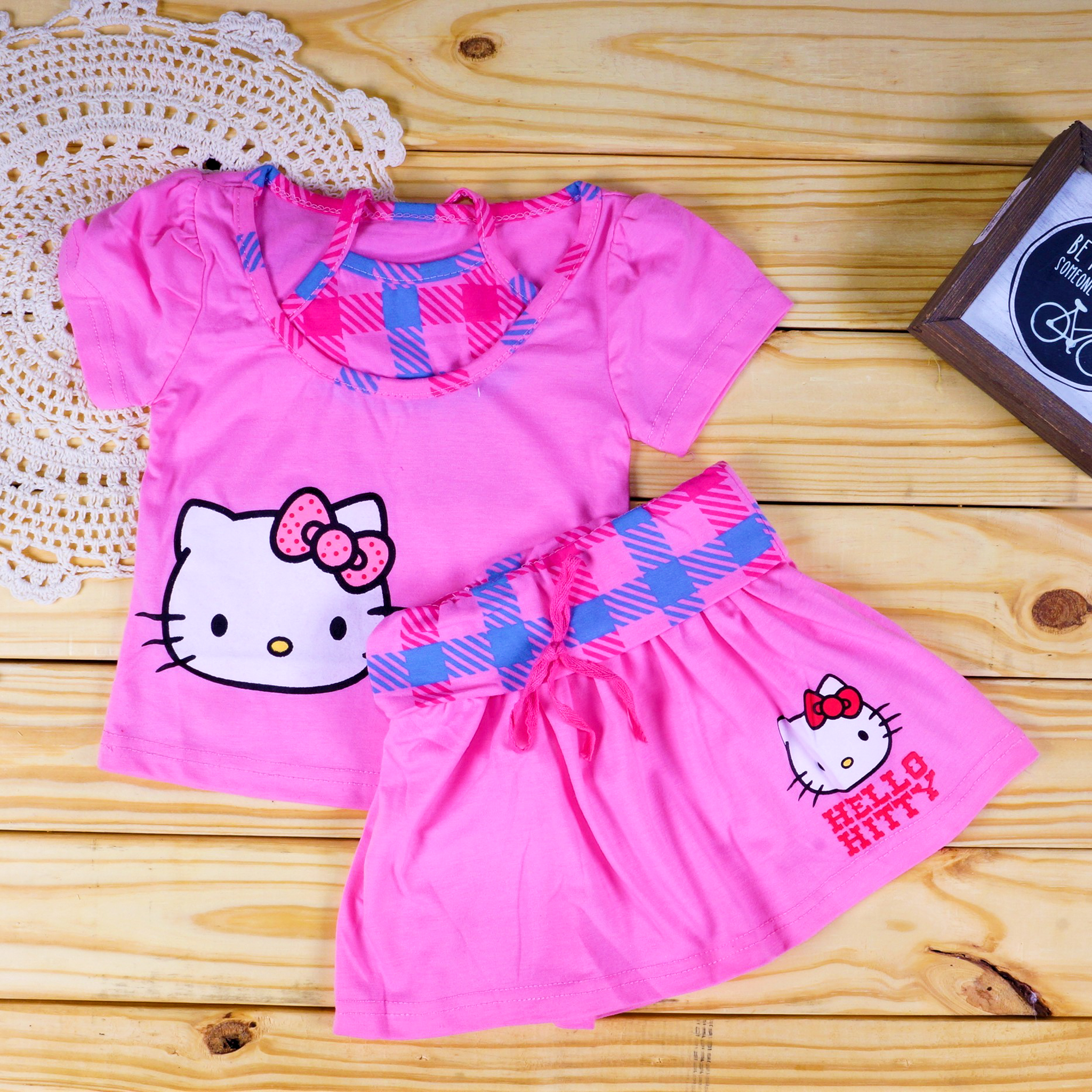 2f1e4fa77 Hello Kitty Halter Neck Pink Top and Skirt Set - On Sale 50% Off